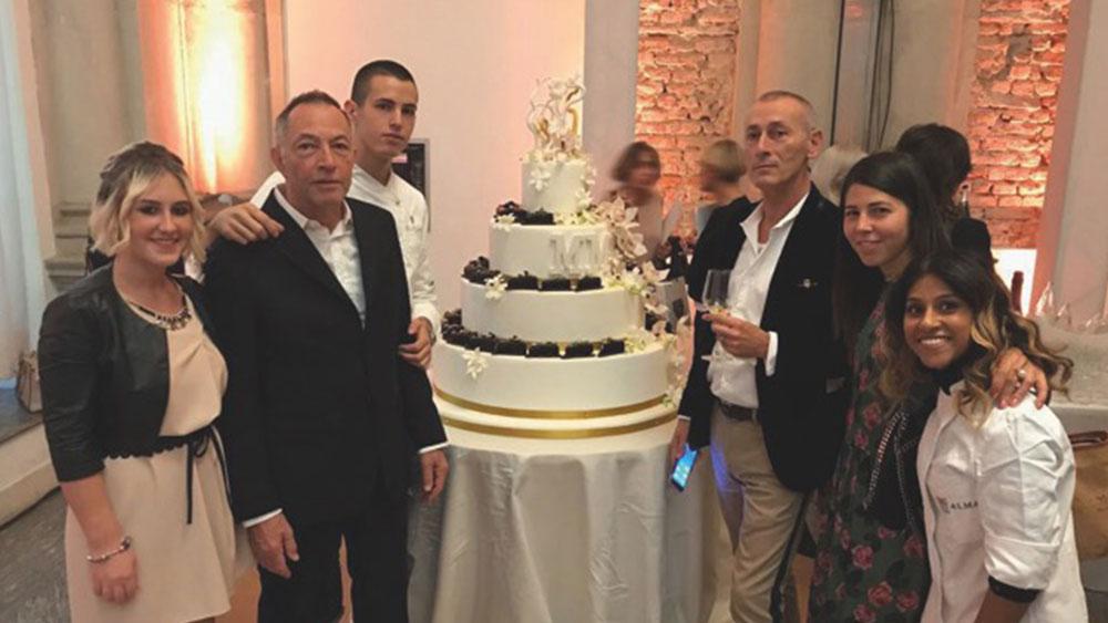 Matteo MANZOTTI, protagonista all'ITALIAN WEDDING STYLE di Milano